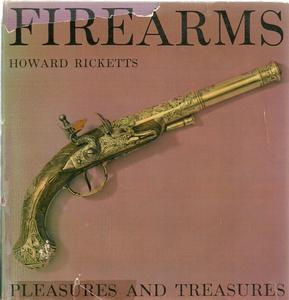 The book Firearms by Ricketts, 128 pages. Price 20 euro