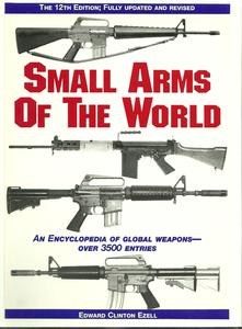 The book Small Arms of the World by Ezell, 891 pages. Price 55 euro