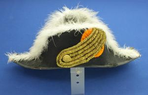 A very nice Dutch Marine Bicorn Hat, circa 1900, in very good condition. Price 550 euro