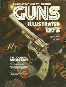 The book Guns Illustrated 1975, 285 pages. Price 15 euro