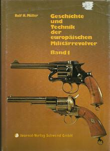 The two books Geschichte und Technik der Europaise Militair Revolver,by Muller (2 bands totals 1205 pages. Price 395 euro