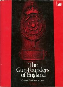 The unused book The Gunfounders of England by Ffoulkes. 133 pages. Price 40 euro