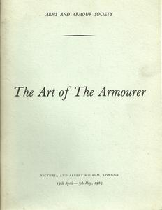 The book The art ofv the armourer, 105 pages. Price 20 euro