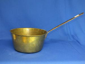 A very nice 19th Century antique Brass Pan, diameter 25 cm, Price 240 euro
