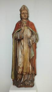 A very nice 19th century Antique wooden sculpture, height 113 cm, Price 550 euro