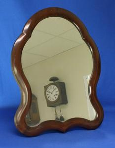 A very nice antique 19th Century English Mahogany Table Mirror, heigth 41 cm. Price 195 euro