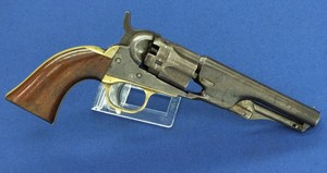 A fine antique Colt Model 1862 Police Percussion Revolver, .36 caliber, 4 1/2