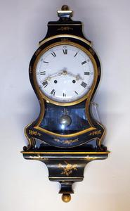 A very nice 18th Century Antique Swiss Neuchatellenoise Clock, height 87 cm, Price  2.450 euro