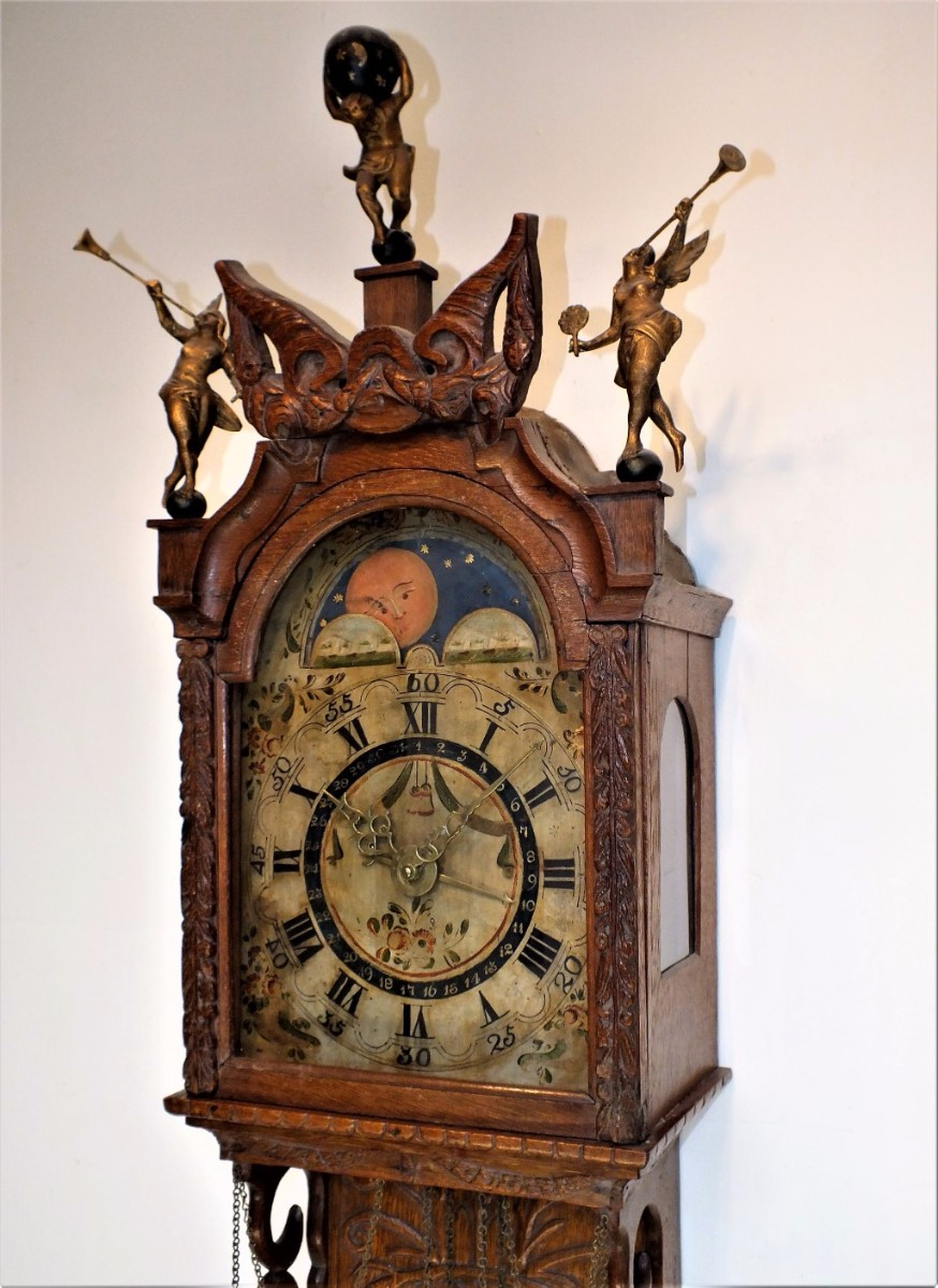 A very nice 18th Century South Netherlands Clock so called