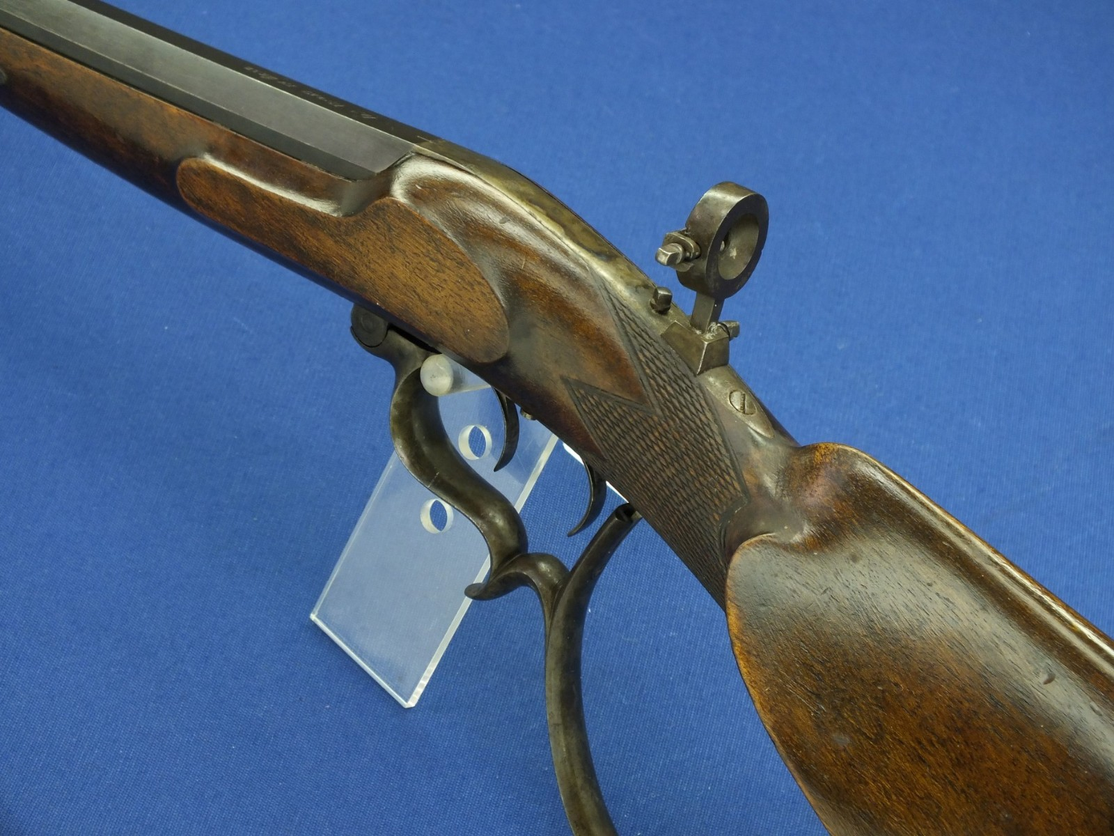 A very nice antique 19th Century Austrian Target Rifle with