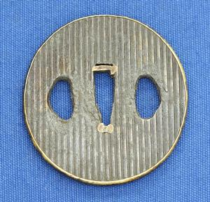 A very nice Antique 19th century Japanese Tsuba diameter 6 cm, Price 175 euro