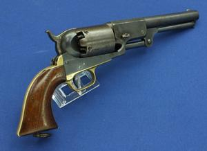 A very nice antique Colt Third Model Dragoon Percussion Revolver, .44 caliber, 7 1/2