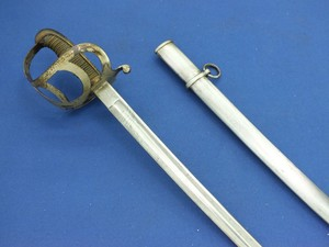 An antique Dutch Cavalry Officers Sword M 1876 by W.P. Loomans Breda, length 95 cm, in very good condition. Price 395 euro
