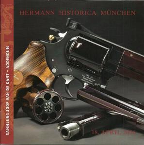 The Hermann Historica Auction Catalogue 18 April 2016, 40 pages. Price 10 euro