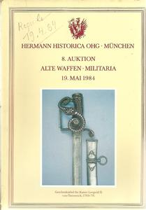 The Hermann Historica Auction Catalogue 19 May 1984. Price 15 euro.