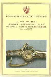 The Hermann Historica Auction Catalogue 26 May 1995. Price 25 euro