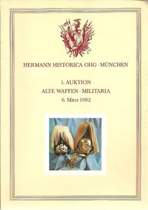 The Hermann Historica Auction Catalogue 6 March 1982, Price 15 euro